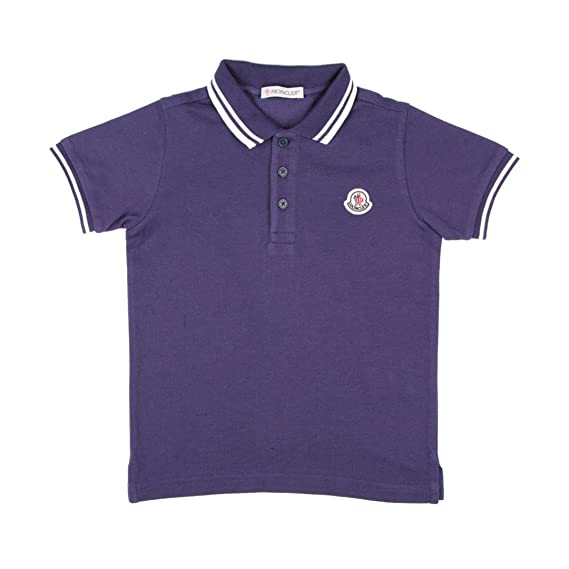 Moncler Junior Polo Bambino Kids Boy Mod. 8306505 8A