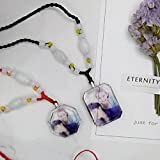Generic custom _photo_ pendant necklace couple _tattoos_ students creative gift Valentine's Day gift _to_send_ men man boy _and_ women _Friends