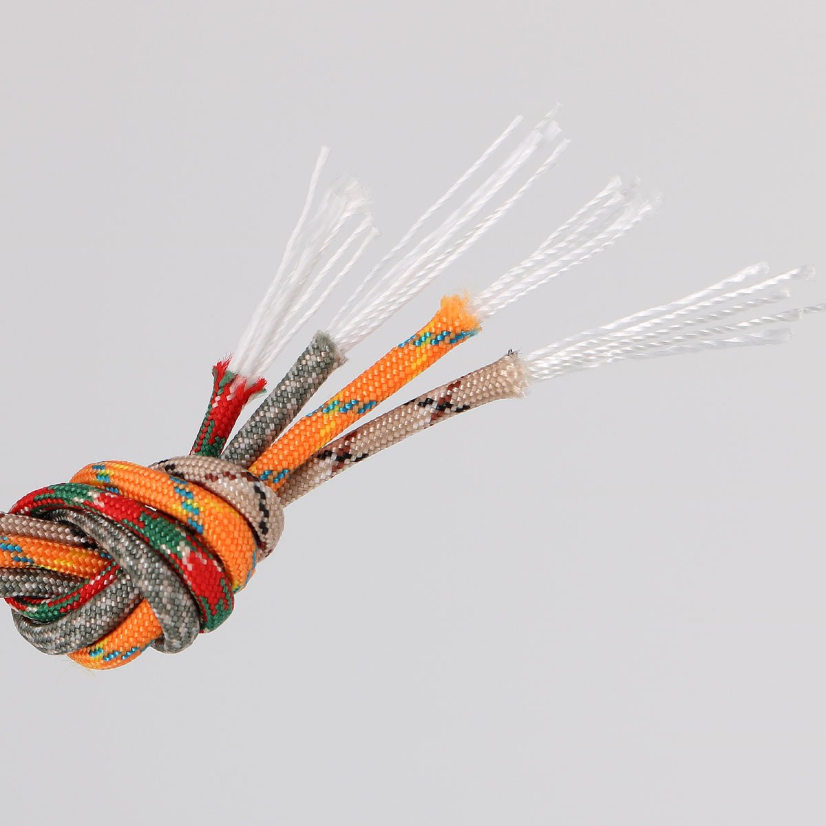 Namvo 550 Luminous Glow in the Dark Paracord Mil Spec Type III 7 strand parachute cord Pink 100ft 30 Meters