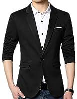 ARRIVE GUIDE Men's Slim Fit Business Casual One Button Blazer Jacket Coat