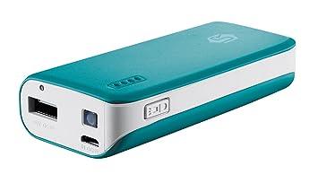Trust Urban PowerBank - Batería externa portátil para dispositivos móviles (4400 mAh), azul