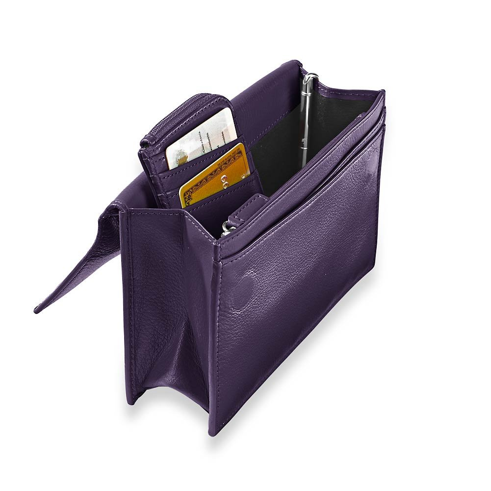 Levenger Travel Wallet & Passcase with Walletini Pen