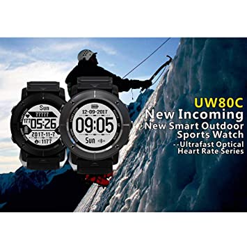 Kakiyi Smart Watch GPS Fitness Tracker Smartwatch Golf Outdoor ...