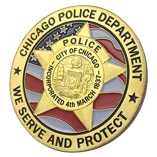 Chicago Police Department / CPD G-P Challenge coin 1112#