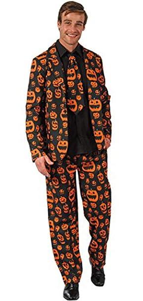 Amazon.com: Hao Kaos - Traje de calabaza y corbata para ...