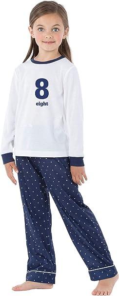 Personalised Age Comic Birthday Pyjamas Custom Gifts Boys Girls