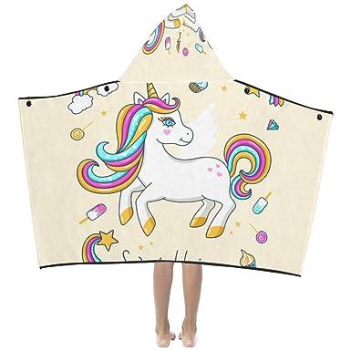 Amazon.com: Dulce dibujos animados de unicornio para niños y ...