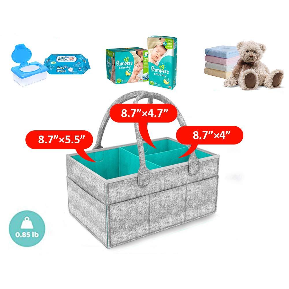 Hoovo Port/átil Bolsa Plegable Organizador Almacenamiento para Pa/ñales de Beb/é
