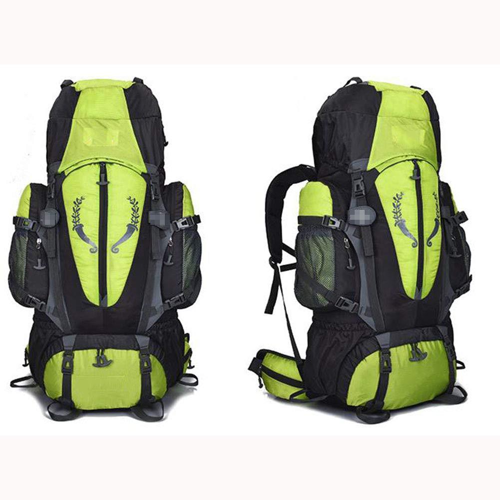 ALEMU 80L Zu Fuß Rucksäcke Nylon Rucksack, Wasserdicht Abnehmbar,Grün B07HCVG48T B07HCVG48T B07HCVG48T Daypacks Hohe Qualität und günstig 25208d
