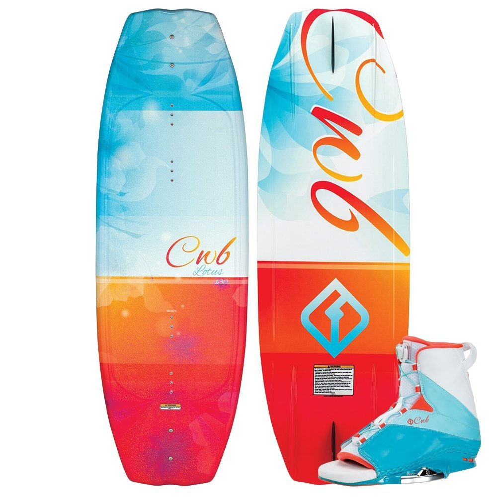 Connelly Lotus 2016 Karma Wakeboard for Age (9-11), 134cm/Large by CWB