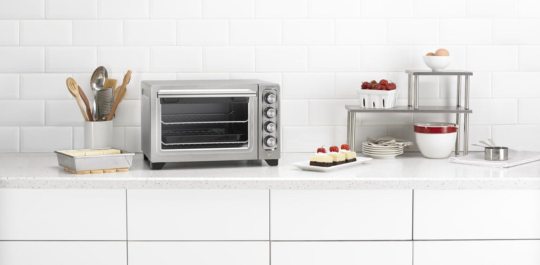 12 Contour Silver KitchenAid KCO253CU Compact Convection Countertop Oven