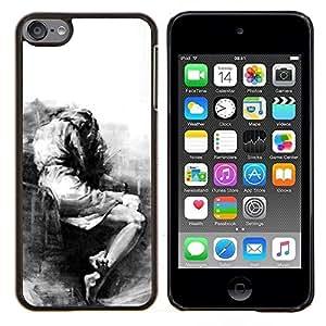 Stuss Case / Funda Carcasa protectora - Triste Llorando Depresión melancólica Heartbreak - Apple iPod Touch 6 6th Touch6