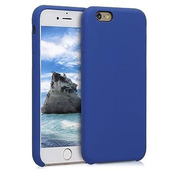 kwmobile Funda para Apple iPhone 6 / 6S - Carcasa de [TPU] para teléfono móvil - Cover [Trasero] en [Azul violáceo]