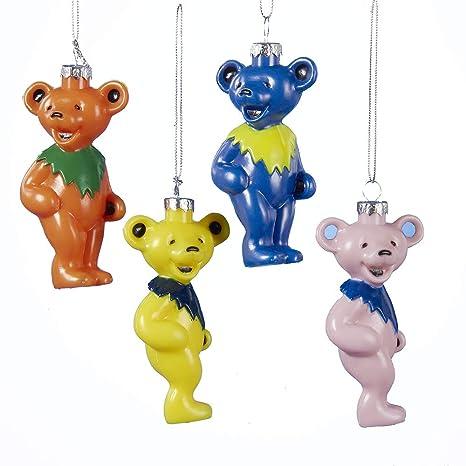 Grateful Dead Christmas Ornament.Grateful Dead Dancing Bear Ornament 4 Asstd