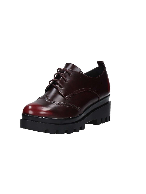 Brigitte BVL51 Zapatos de Cordones Mujer 41 EU|Bordeaux