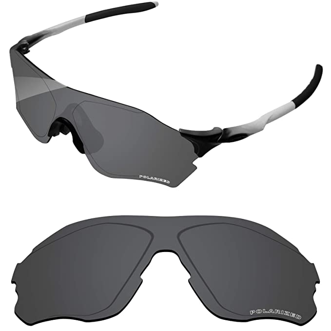 9fe1a5320bc Tintart Performance Lenses Compatible with Oakley EVZero Path Polarized  Etched-Carbon Black