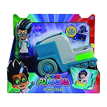 PJ Masks Villain Romeos Lab Vehicle with Romeo Figure