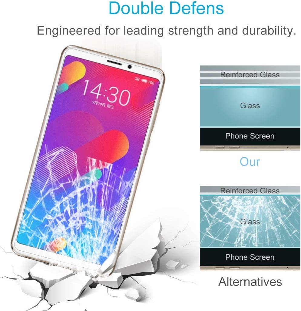 CHENNAN 100 PCS 9H 2.5D Tempered Glass Film for iPhone Xs//X Glass Phone Screen Protectors