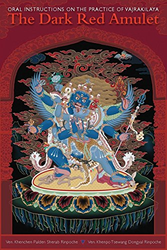 Buddhist Tibetan Deities (The Dark Red Amulet: Oral Instructions on the Practice of Vajrakilaya)