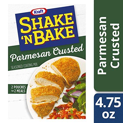Shake 'N Bake Crusted Parmesan Seasoned Coating Mix (4.75 oz Boxes, Pack of 8)