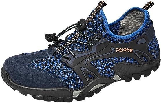 ZODOF zapatillas deportivas hombre Zapatos de agua Deportes Secado rápido Buceo Nadar Navegar Aqua Walking Surf Yoga running shoes(38.5 EU,Azul): Amazon.es: Bricolaje y herramientas