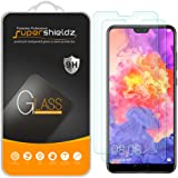 (2 Pack) Supershieldz for Huawei (P20 Pro) Tempered Glass Screen Protector, Anti Scratch, Bubble Free