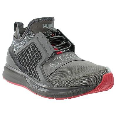 brand new 378ea 2b0e9 Puma X Agrafe Ignite Limitless pour Homme Gris Textile Athletic Chaussures  d entraînement, Gris