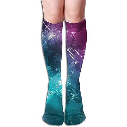 Amazon.com: Bandnae 19.68 Inch Compression Socks Stars ...