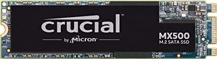Crucial MX500 500GB M.2 Type 2280 SSD Internal Solid State Drives at amazon
