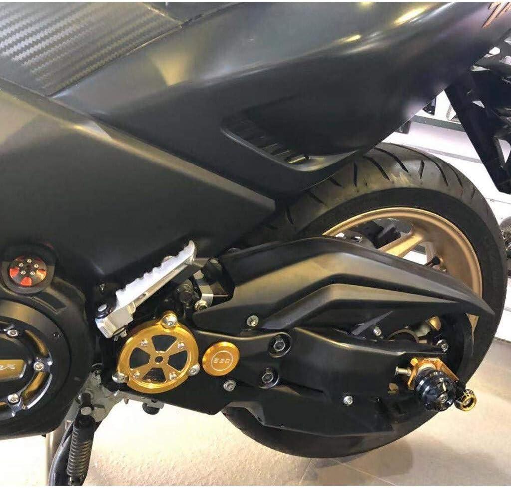 Apricot blossom .Engine Cubierta de Marco de la Motocicleta del armaz/ón Delantero del Orificio del cig/üe/ñal del Protector de la Cubierta del Protector for Yamaha TMAX 530
