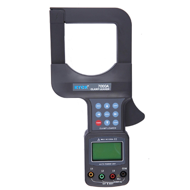 Amperímetro de corriente de fuga de gran calibre Alicates Medidor de voltaje Detector Medidor de Corriente Alicates etcr 7000 A: Amazon.es: Bricolaje y ...