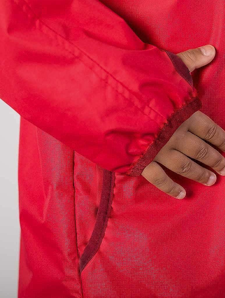 Lightweight Waterproof Boys Rain Jacket with Magic PatternTherm Boys Rain Jacket Blue Red Breathable Mesh Lined Therm SplashMagic Raincoat Lightweight Raincoat with Magic Pattern Toddler Kids Youth