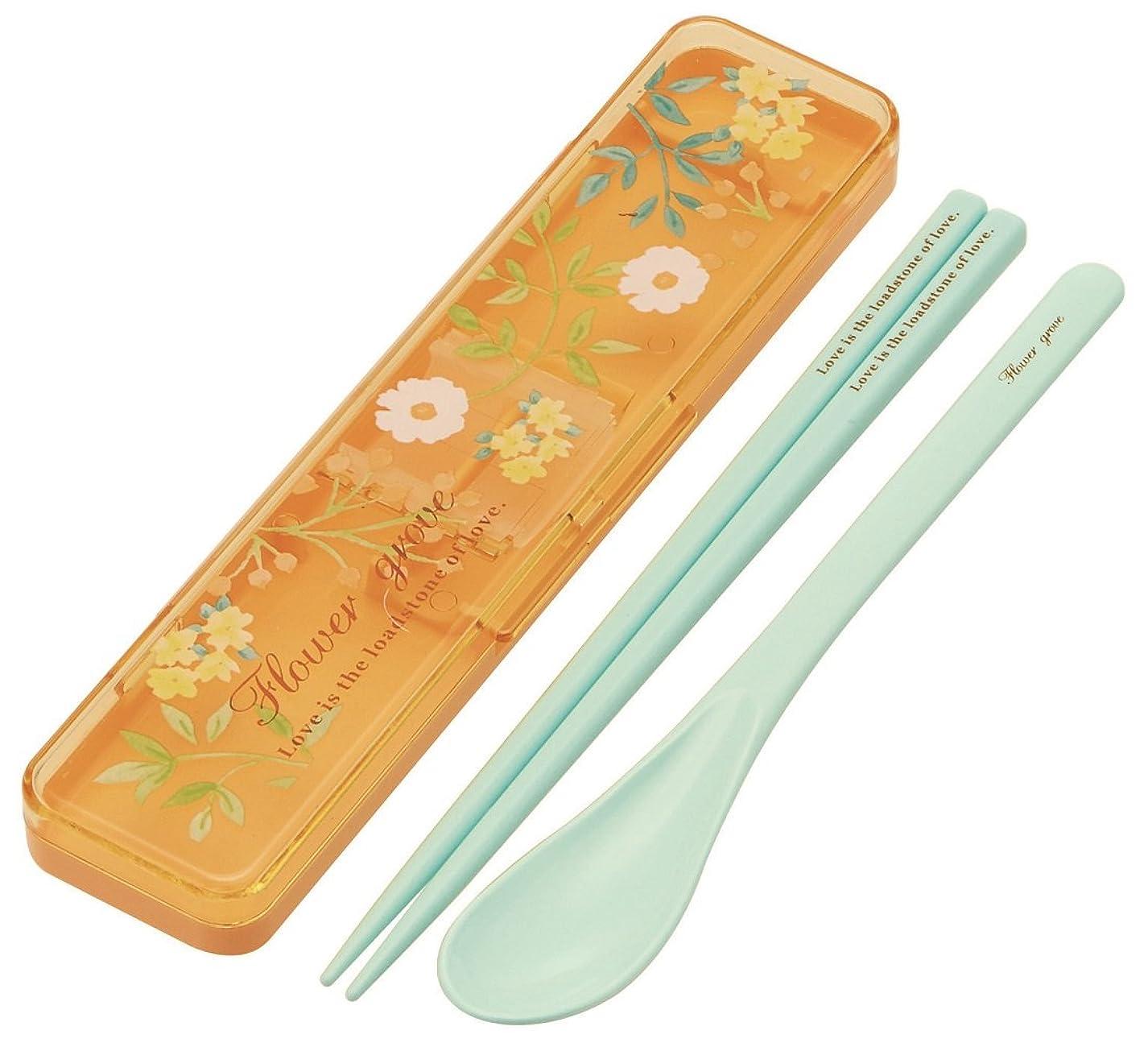 スケート暗唱するラメスケーター 木目調 スリム 箸 箸箱セット 18cm となりのトトロ スタジオジブリ 日本製 ABKS3WB