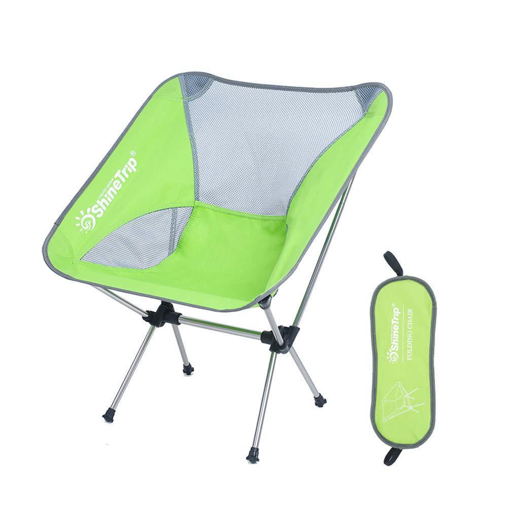 Tragbare Camping Stuhl Beweglicher kampierender Stuhl mit justierbarer Höhe, faltende wandernde Stühle, die Stuhl mit Tragetasche für Wanderer, Lager, Strand, fischen fischen Wanderer, Camp, Strand,