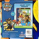 Nickelodeon Paw Patrol 40 X 50 Silky Soft Throw