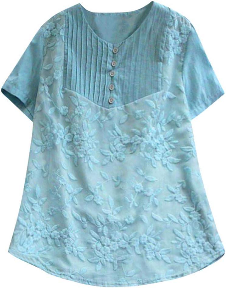 Geilisungren Camisa de para Mujer Formal Camiseta con ...