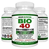 probiotic slow release - BIO-40 Probiotic Supplement - 40 Billion CFU – Arazo Nutrition