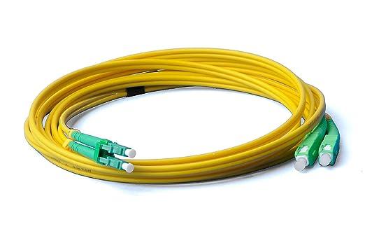 30 m 30 m LWL OM3 LC a LC Cavo patch in fibra ottica cavo patch Duplex 50//125