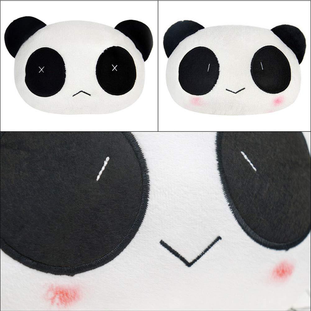 SXJ 4 Pcs Cute Neck Pillow Panda Plush Auto Car Headrest Neck Support Cushion Pillow by SXJ