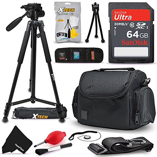 Xtech 64GB Memory Card Kit + Premium Camera Case + Pro Serie