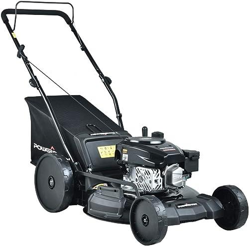 PowerSmart PSMB21P Gas Push Lawn Mower, Black