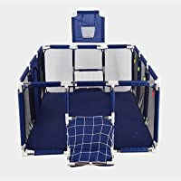 XINBTK Baby Playpen(Large-Foldable) Indoor&Outdoor Play pen - Rectangular Baby Play Yard(parc pour bébé) with pull ring…