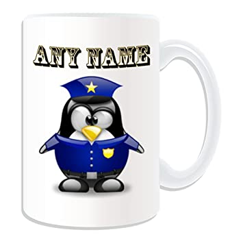 En Mug Personnalisé Cadeau Forme De Pingouin Grand Police Thème n0Pwk8OX
