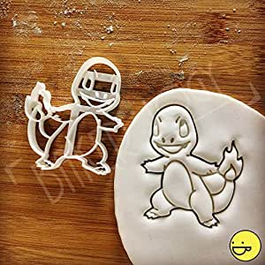 Pokemon Charmander Inspired Cookie cutter: Beautifully detailed classic anime character biscuit cutter!