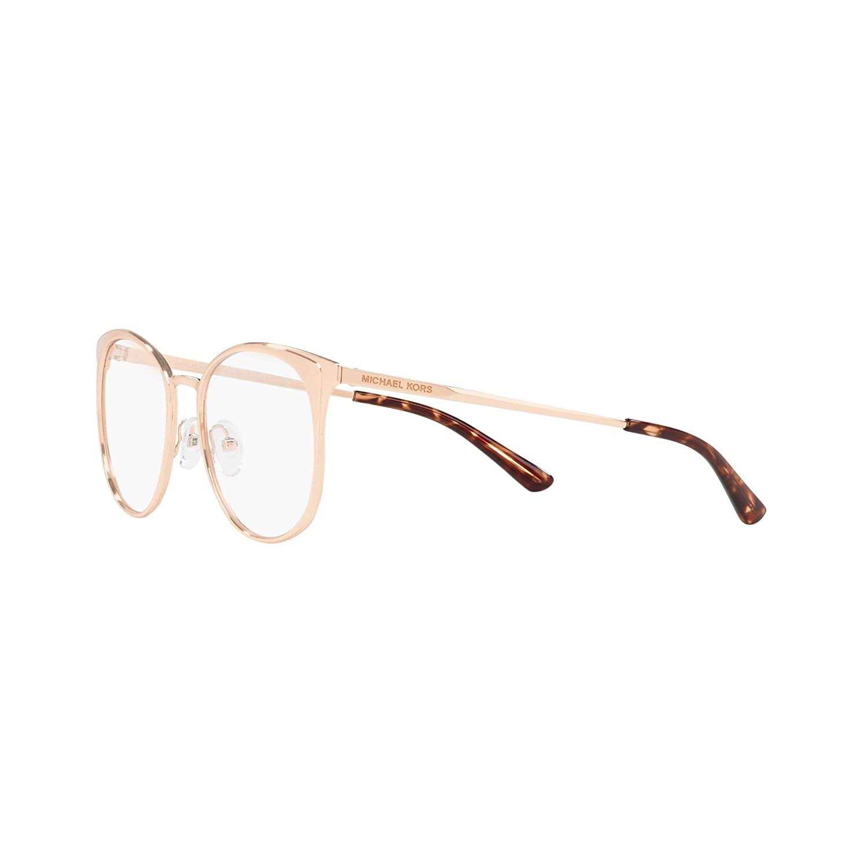 62d9d9eb66f8 Michael Kors MK3002 New Orleans Glasses in Rose Gold MK3022 1026 53:  Amazon.co.uk: Clothing