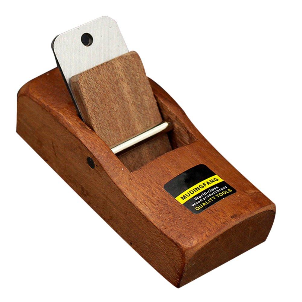 Carpenter Hand Planer Wood Shaving Woodcraft DIY Hard Woodworking Planer Wood Hand Tools 10cm cheerfulus