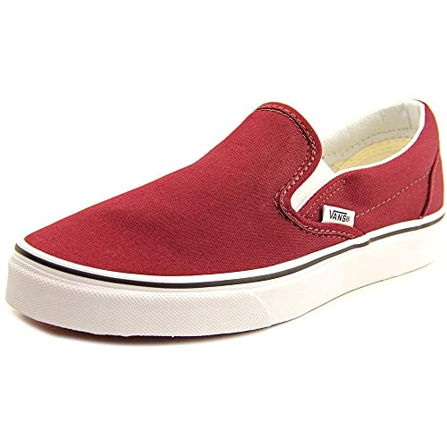 Vans Classic Slip On Women US 7.5 Burgundy Skate Shoe  Amazon.ca  Shoes    Handbags c45dd08cf