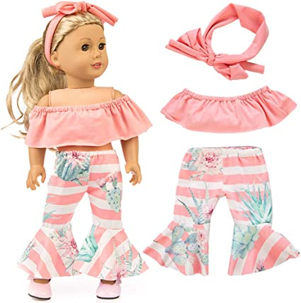 Fit For 18/'/' American Girl Red Headband Sparkle Hair Outfit New Doll Accessory