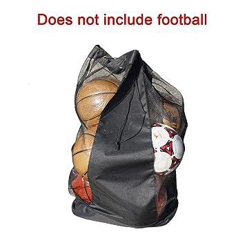 Hengbaixin - Bolsa de Malla Impermeable para balón de fútbol ...