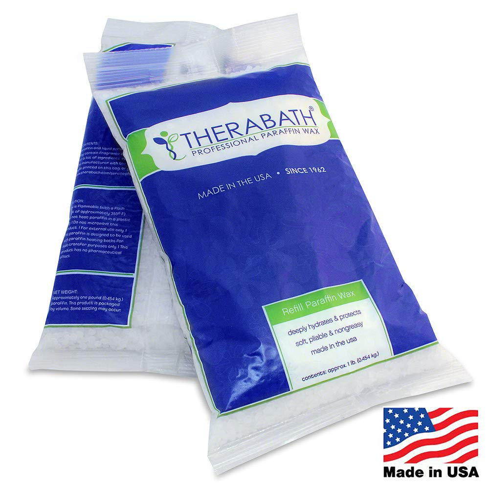 Therabath Paraffin Wax Refill - Use To Relieve Arthritis Pain and Stiff Muscles - Deeply Hydrates and Protects - 24lbs Scent Free by Therabath